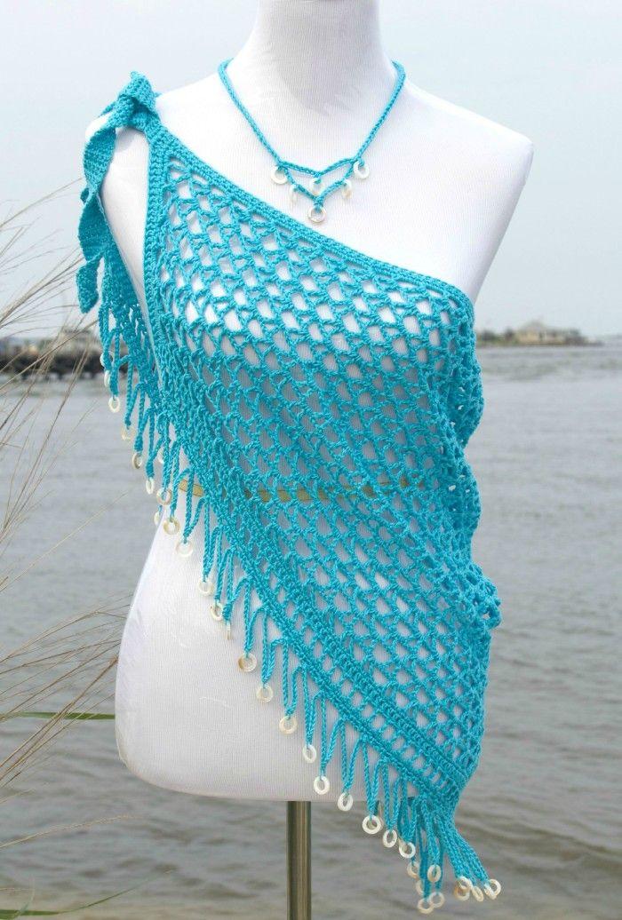 Reggae Dreams Wrap Crochet Pattern by Pattern-Paradise.com ༺✿ƬⱤღ ...