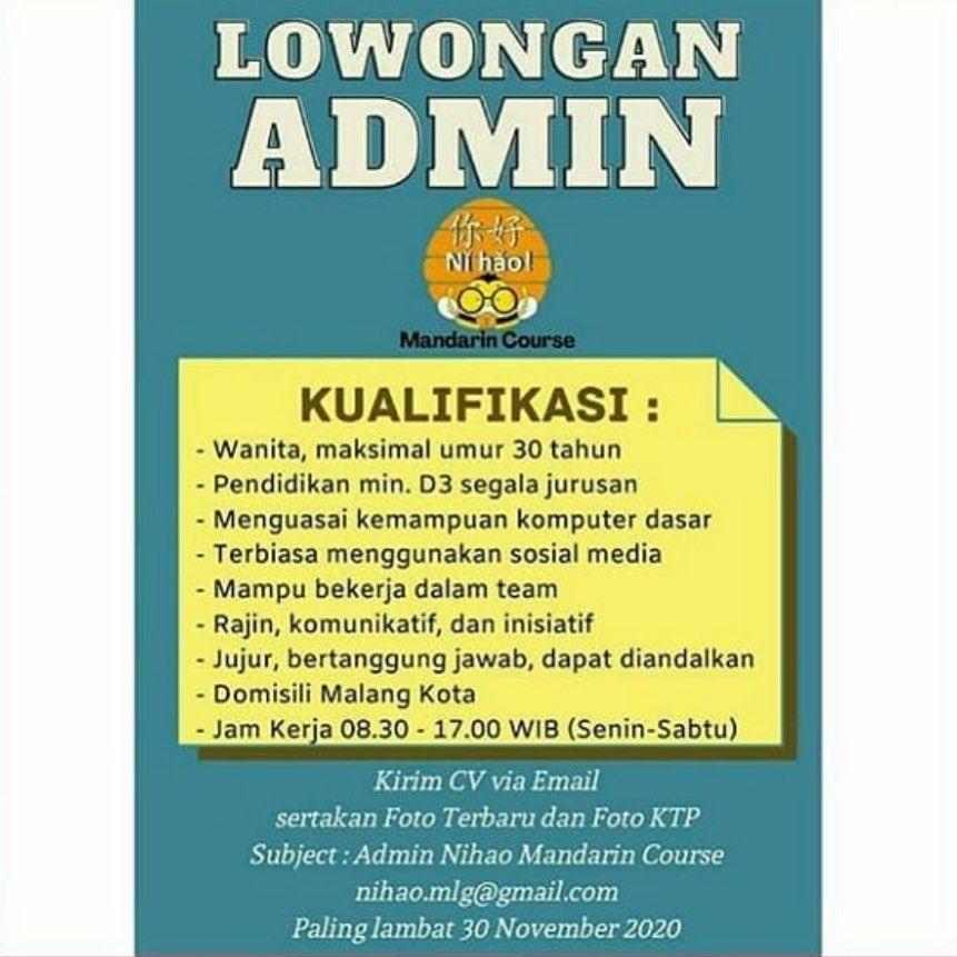 Loker Malang Subscribe Follow Instagram Aikerja Twitter Aikerja Dan Ikuti Terus Website Lowongan Kerja Aikerja Com Malang Pendidikan Instagram