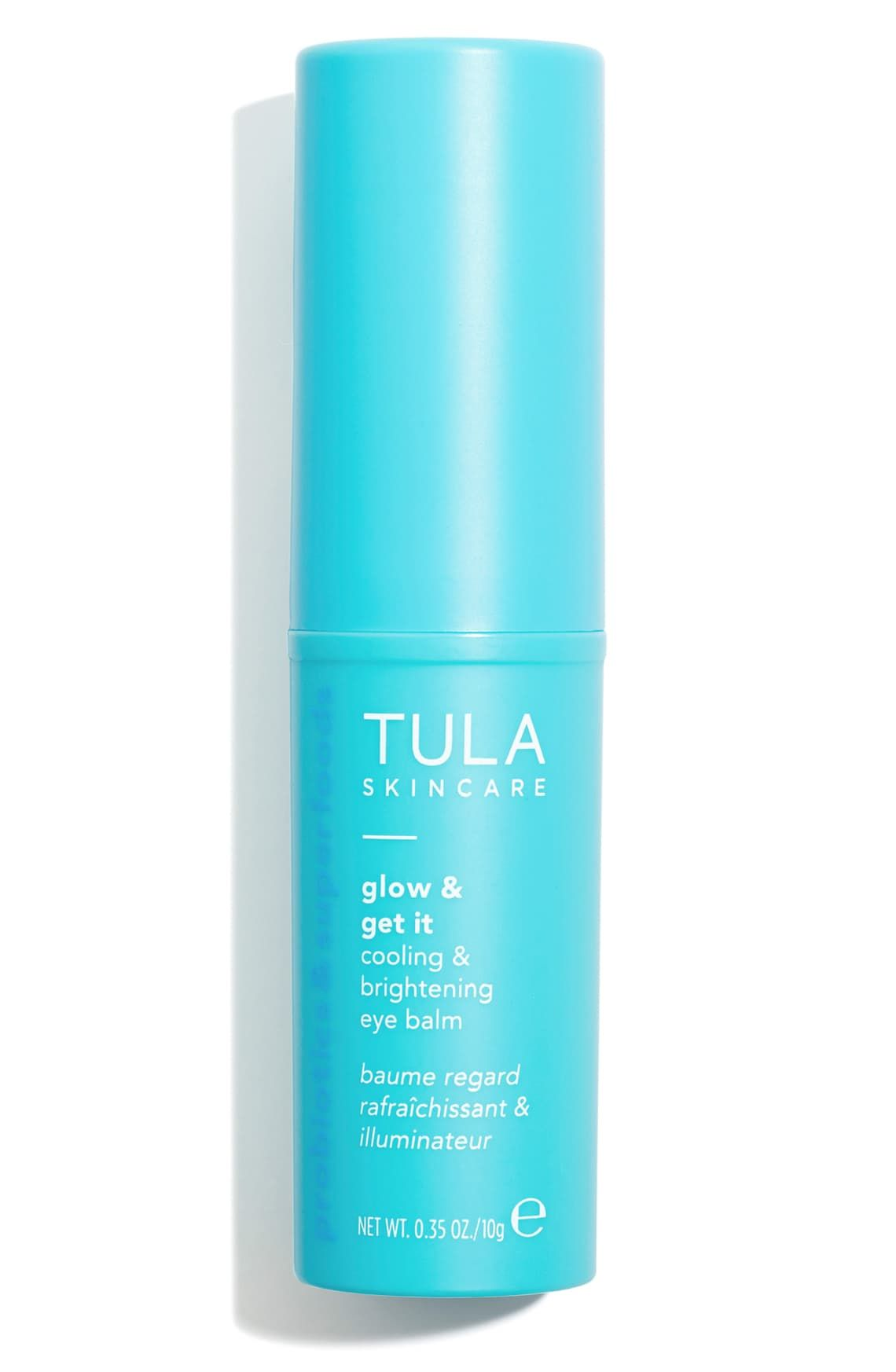 Tula Probiotic Skincare Glow Get It Cooling Brightening Eye Balm Nordstrom Glowing Skincare Tula Skincare The Balm