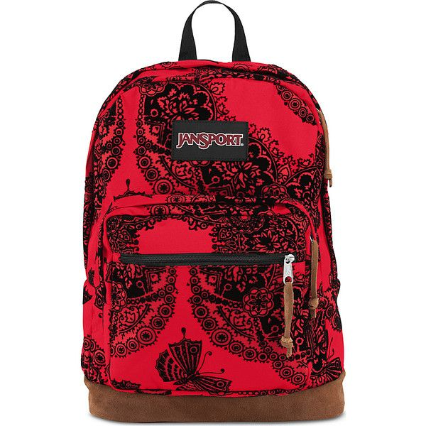 JanSport Right Pack Expressions Laptop Backpack ($54) ❤ liked on ...