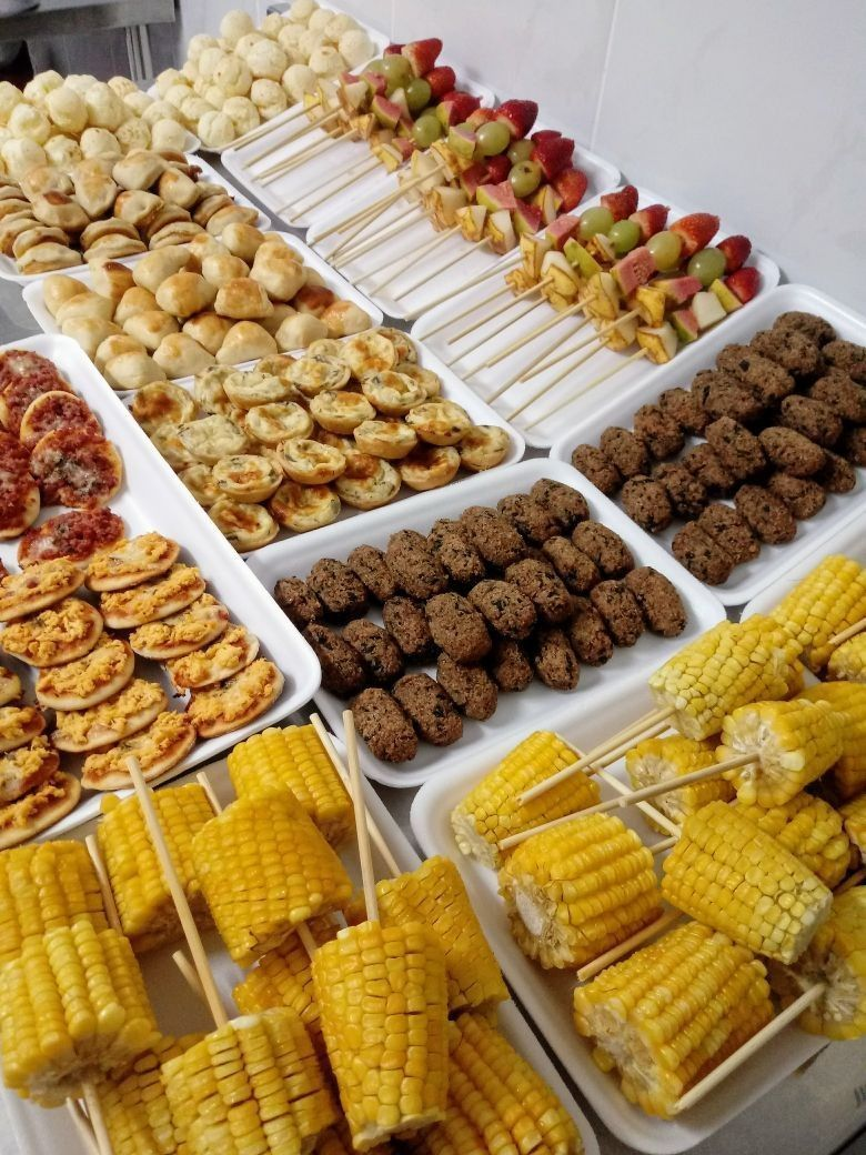 Corn On The Cob Catering Buffet Catering Food Catering Display
