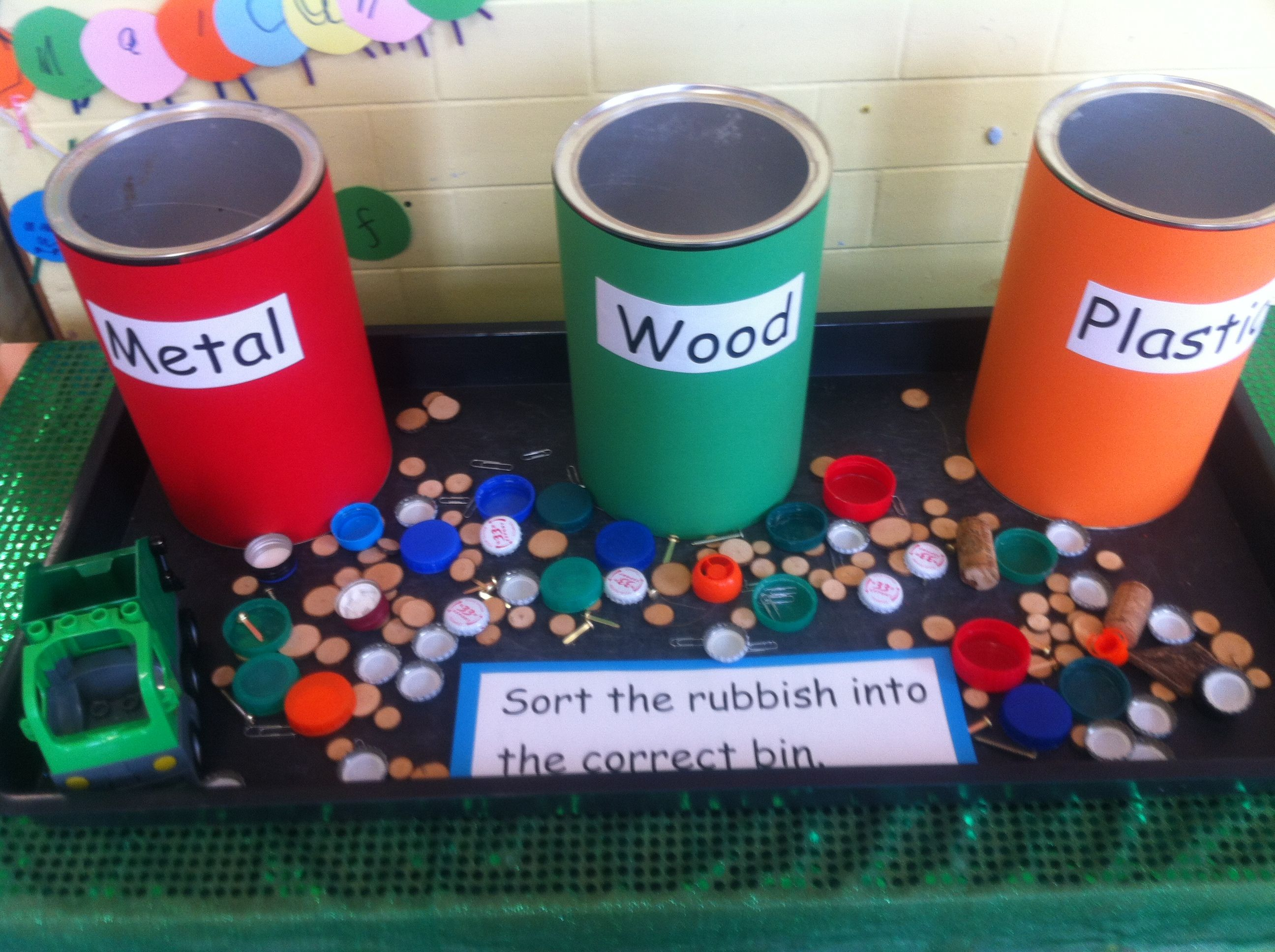 Sorting Different Materials