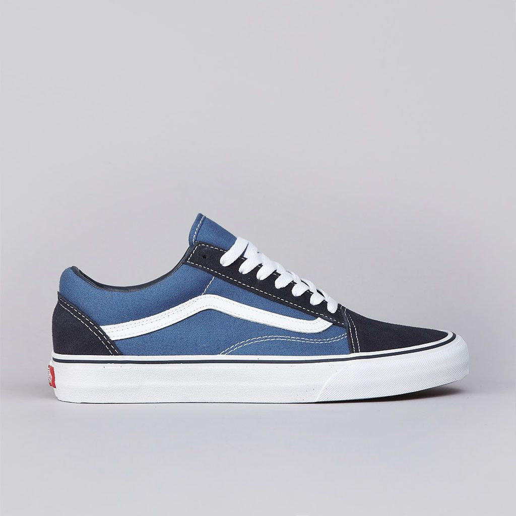 Flatspot Vans Old Skool Navy | Vans old skool navy, Vans