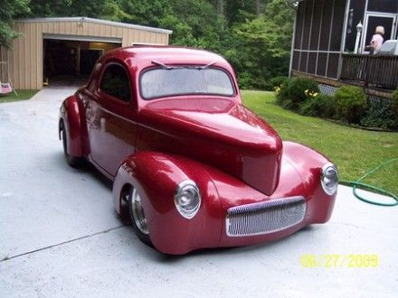 41 Willys - Car, Auto, Custom Ride, 41 Willys, Street Rod, Street Car, Hot Rod, Hot Car, Hot Rod Car, Auto Car