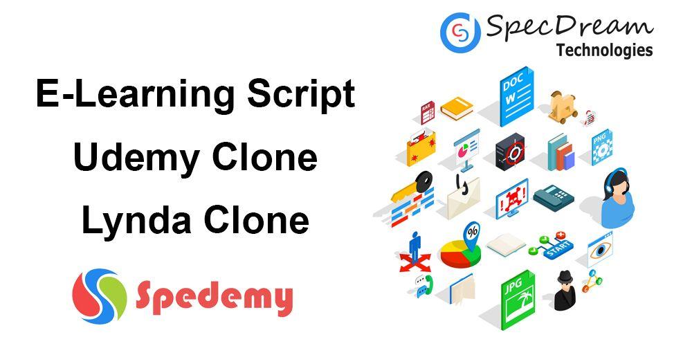 Spedemy - Udemy Clone, Lynda Clone, Coursera Clone  Online