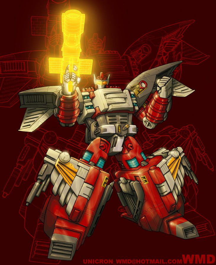 Jetfire by UNICRON-WMD