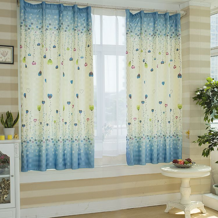 paire de rideaux originaux motif