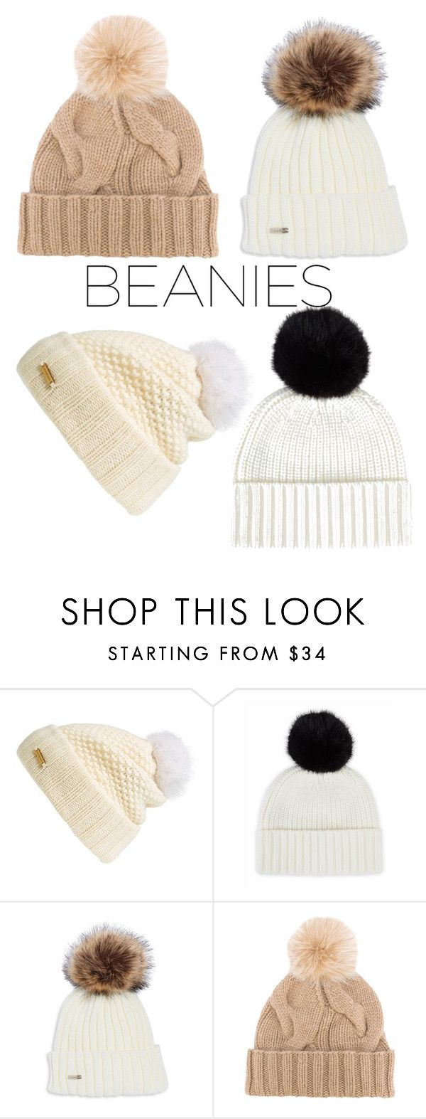 """""""BEANIES!!!"""" by becky-b2 ❤ liked on Polyvore featuring Burberry, Jaeger and Loro Piana"""