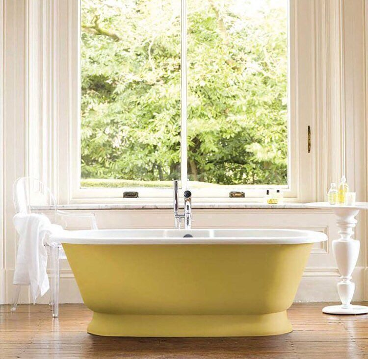 """Cheap Apartments For Rent: Môn Interiors On Instagram: """"I Do Love A Painted Tub And"""