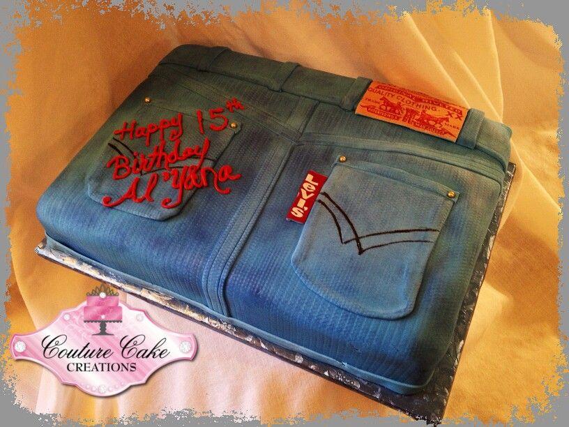 Denim and Diamonds Cake | Events - Denim u0026 Diamonds | Pinterest | Diamond Cake and Birthdays