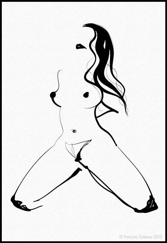 Forme féminine érotique