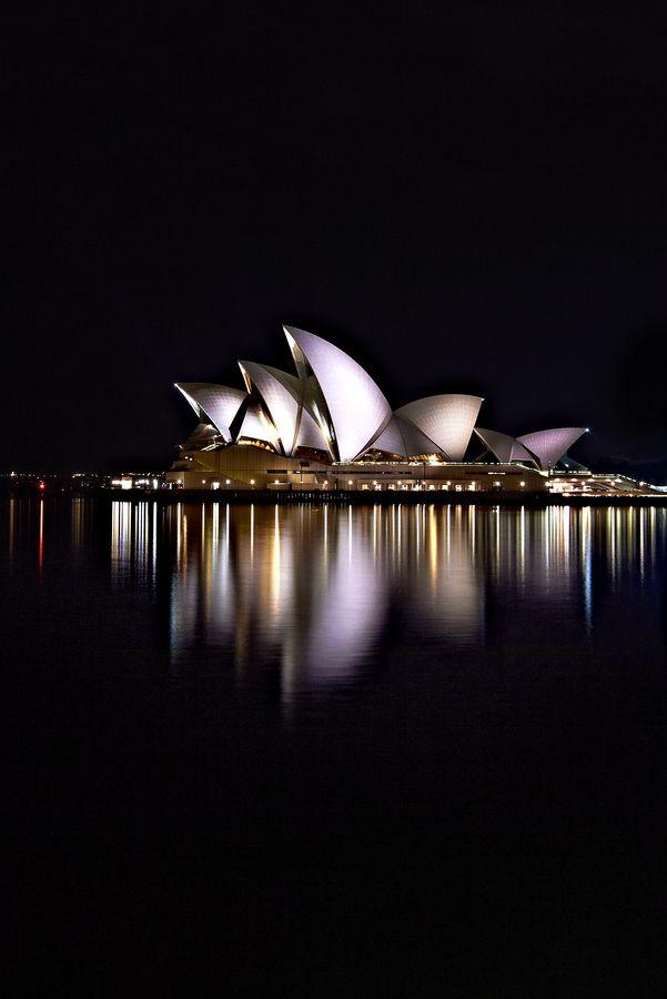 Opera House Reflections