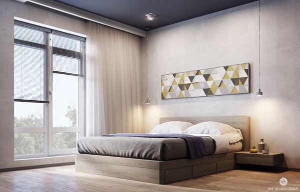 Amazing Apartment With Superhero Bedroom Theme is part of Apartment bedroom Themes - decor 3 weeks ago Apartments 3 Views Great condominium 107 sq  meters by Vae Design Group designed for households with two kids  The first house includes a entrance room, bar, kitchen and consuming ro