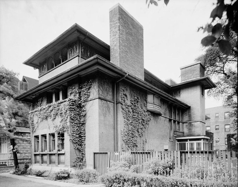 Frank Lloyd Wrights Isidore H Heller House Hyde Park Chicago