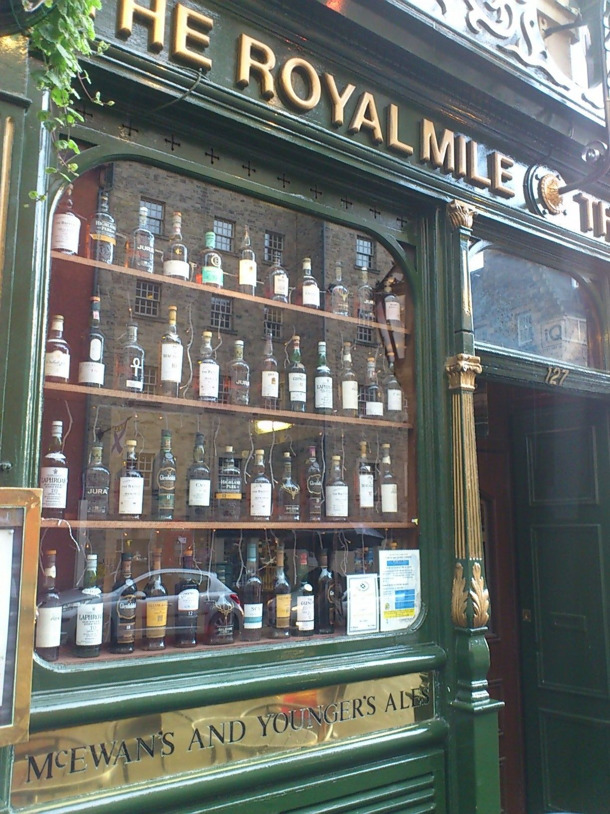 Beer shop in Edinburgh