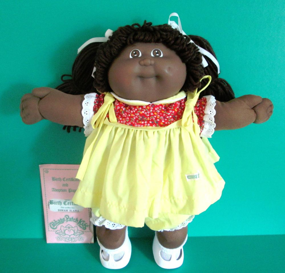 Cabbage patch girl doll aa hm 3 double ponytails birth certificate cabbage patch girl doll aa hm 3 double ponytails birth certificate 1984 coleco aiddatafo Images