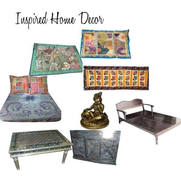 """Inspired Home Decor"" by mogulinteriordesigns on Polyvore"
