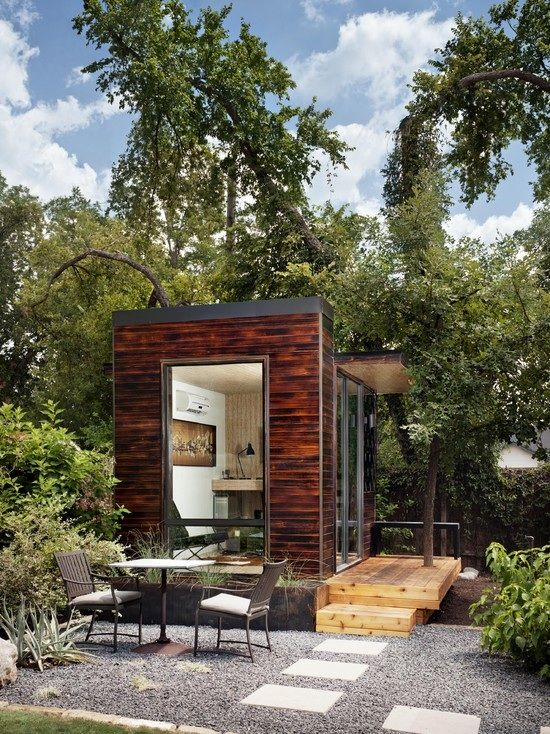Small detached home office | Residential Design Images ...