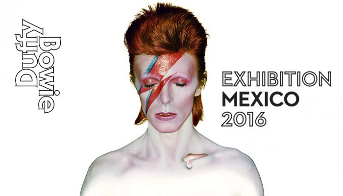 David Bowie en el Museo de la Ciudad de México