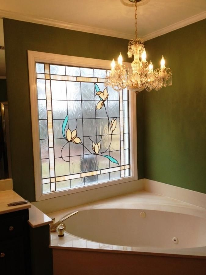 Gl 15 Beautiful Bathrooms With Stained Windows