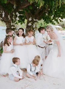 Tropical and Glamorous Wedding at St. Thomas Ritz | Photos