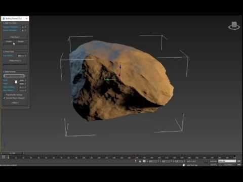 Download RStones 3ds Max Script To generate Rock model - Plugins
