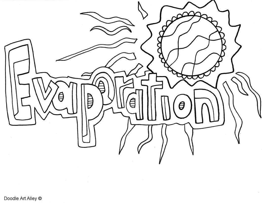 Awesome Coloring Page Water Cycle That You Must Know You