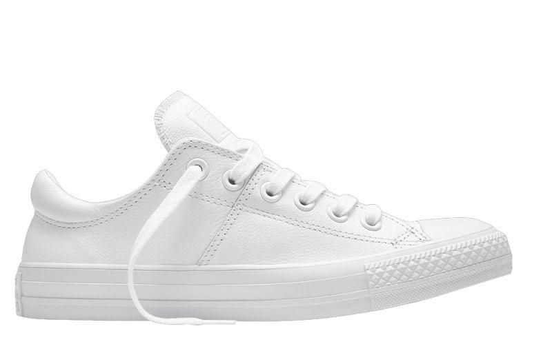 e6274fe4d86 Leren witte allstars van Converse. Model 551585C. €79,95 #sneakers  #converse #allstars #wittesneakers #trend #leer