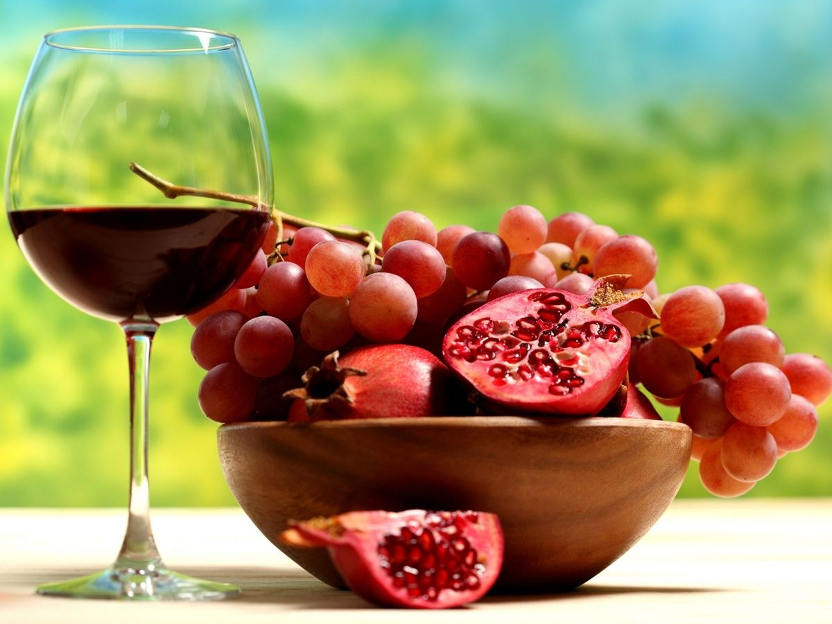 Who Knew Armenian Wine From Areni Has To Be Done Pomegranate Wine Recipes Fruit Recipes Fruit