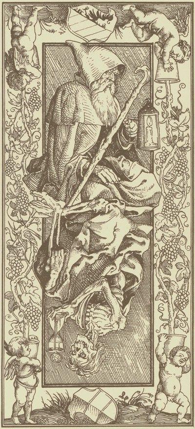 Tarot D The Didactic Tarot By Jeffrey M Donato: The Hermit-Le Tarot D'Albrecht Dürer