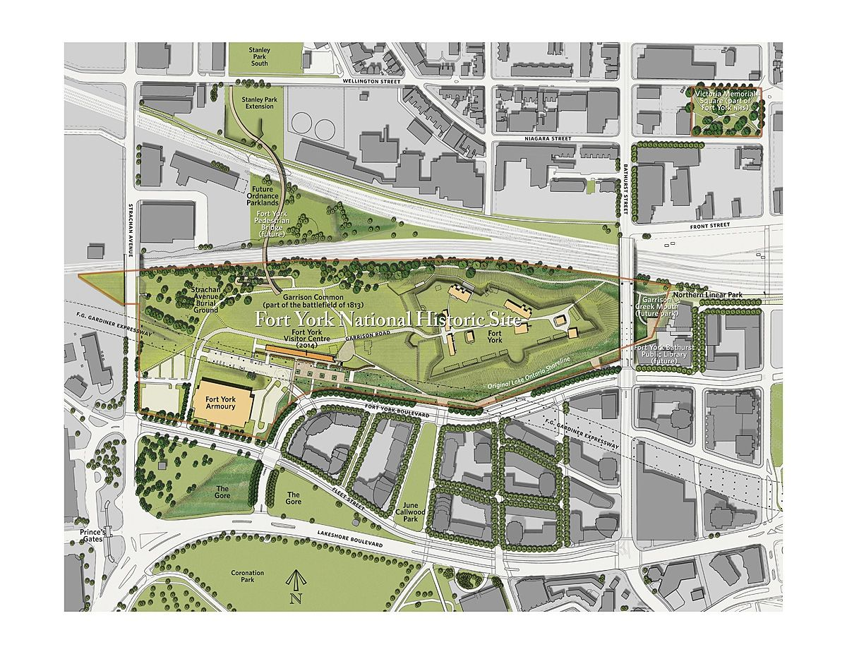 Fort York National Historic Site Rehabilitation Concept