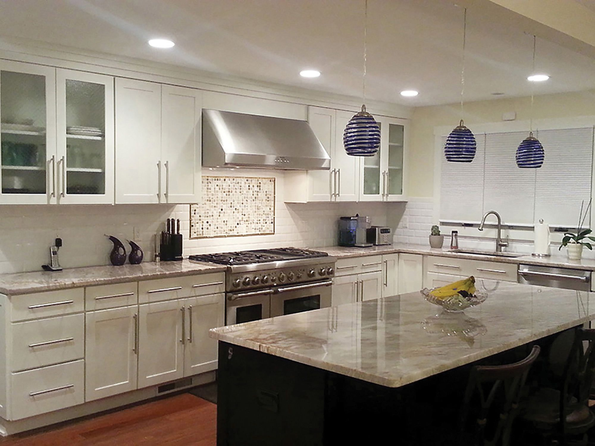 Trumbull Connecticut Kitchen Renovation Features Cliqstudios Custom Painted Cabinets