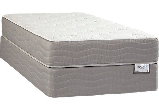 shop for a therapedic cadenza twin mattress set at rooms to go kids find that
