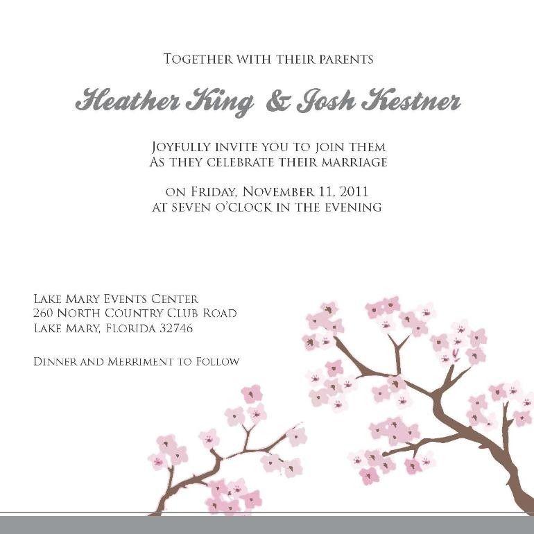 electronic wedding invitations free | Wedding Stationary