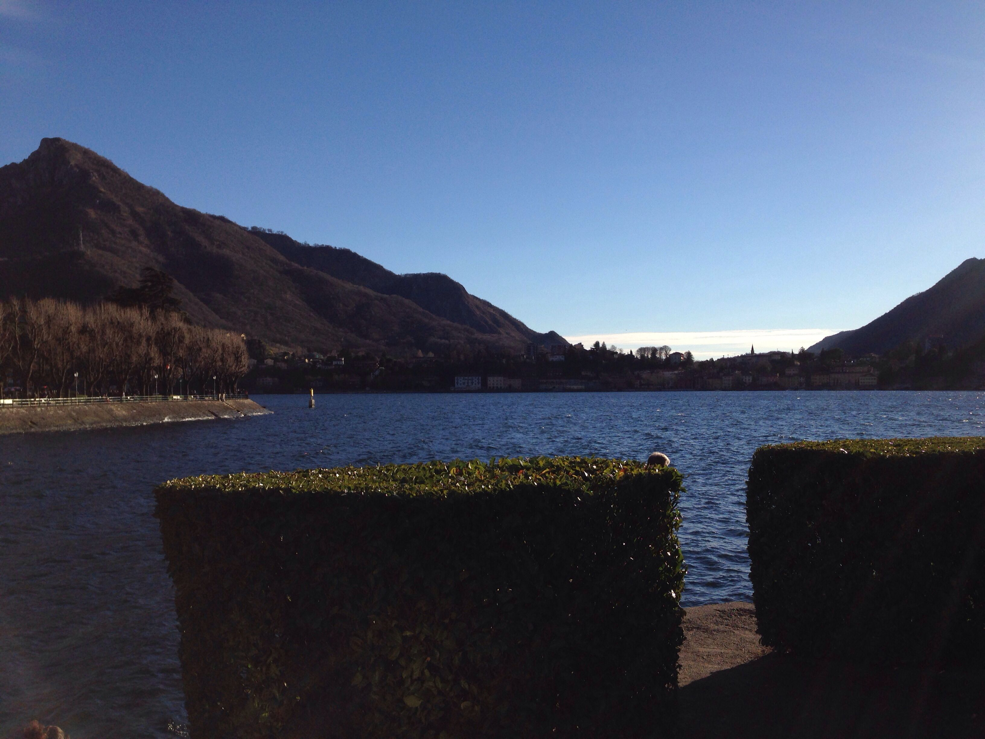 Amazing sunny day in Lecco!