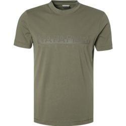 Photo of Napapijri Herren T-Shirts, Baumwolle, khaki grün Napapijri
