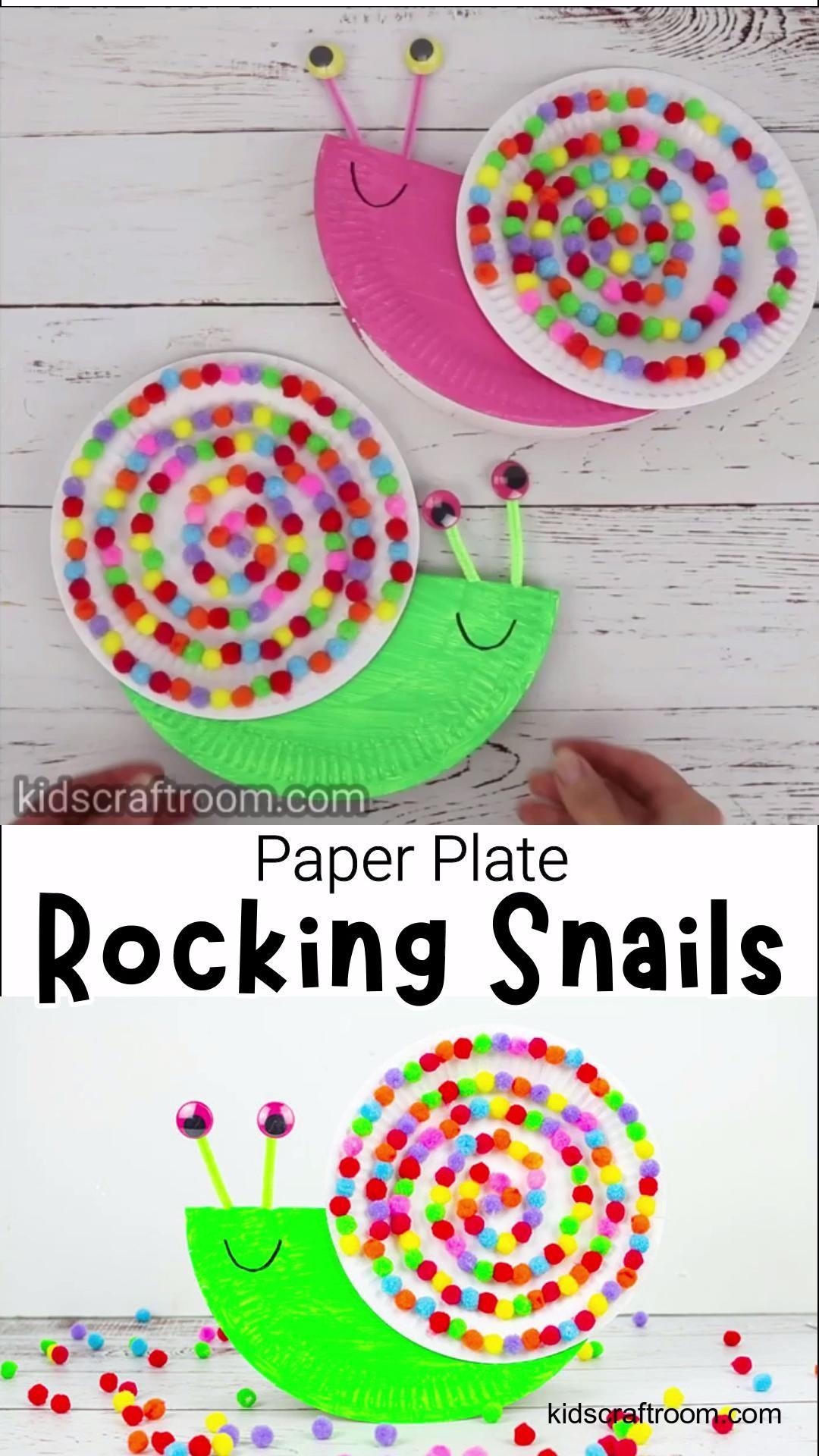 Rocking Snail Craft
