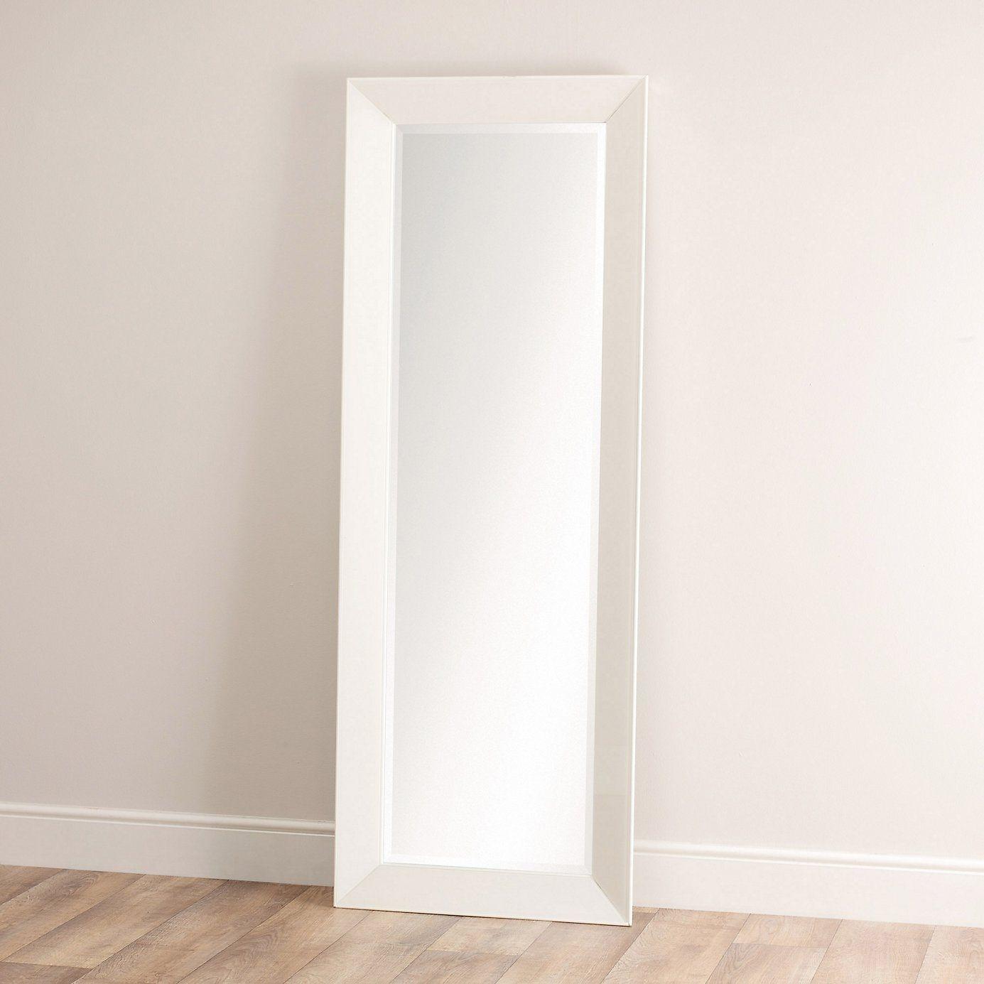 White Framed Full Length Wall Mirror | http://drrw.us | Pinterest ...