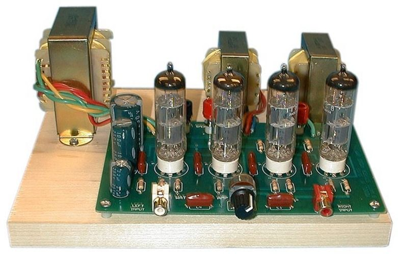 Model K12g Stereo Tube Amplifier Kit Diy Amplifier Valve Amplifier Amplifier