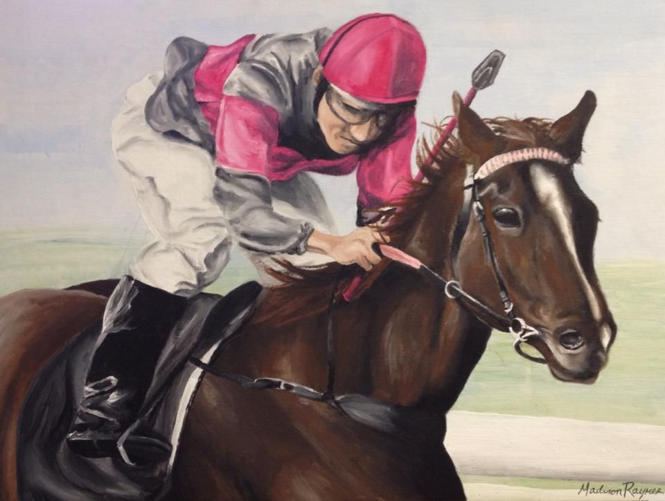 Jockey and Horse by Mvraymer12