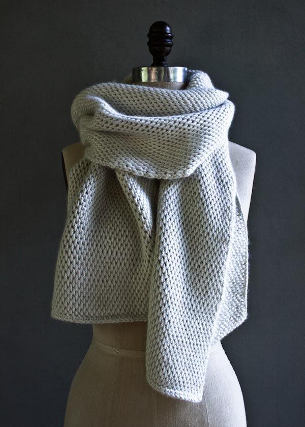 Tunisian Crochet Scarf Purl Soho Free Pattern Wrap Tunisch