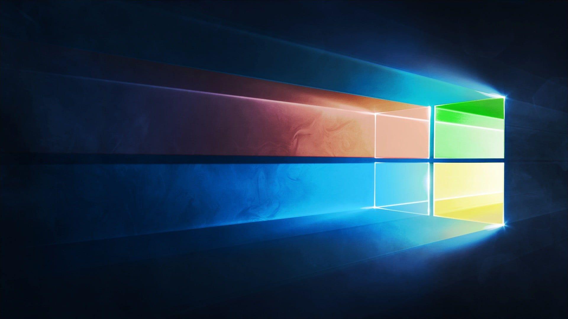 Microsoft Windows logo Windows 10 Microsoft operating