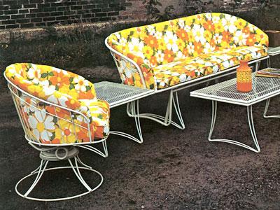 Fabric Options Vintage Wire Fabrics Homecrest Outdoor Living Vintage Outdoor Furniture Vintage Patio Furniture Vintage Patio