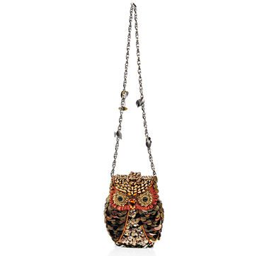 """Mary Frances """"What A Hoot"""" Beaded Bag  #ilovetoshop"""