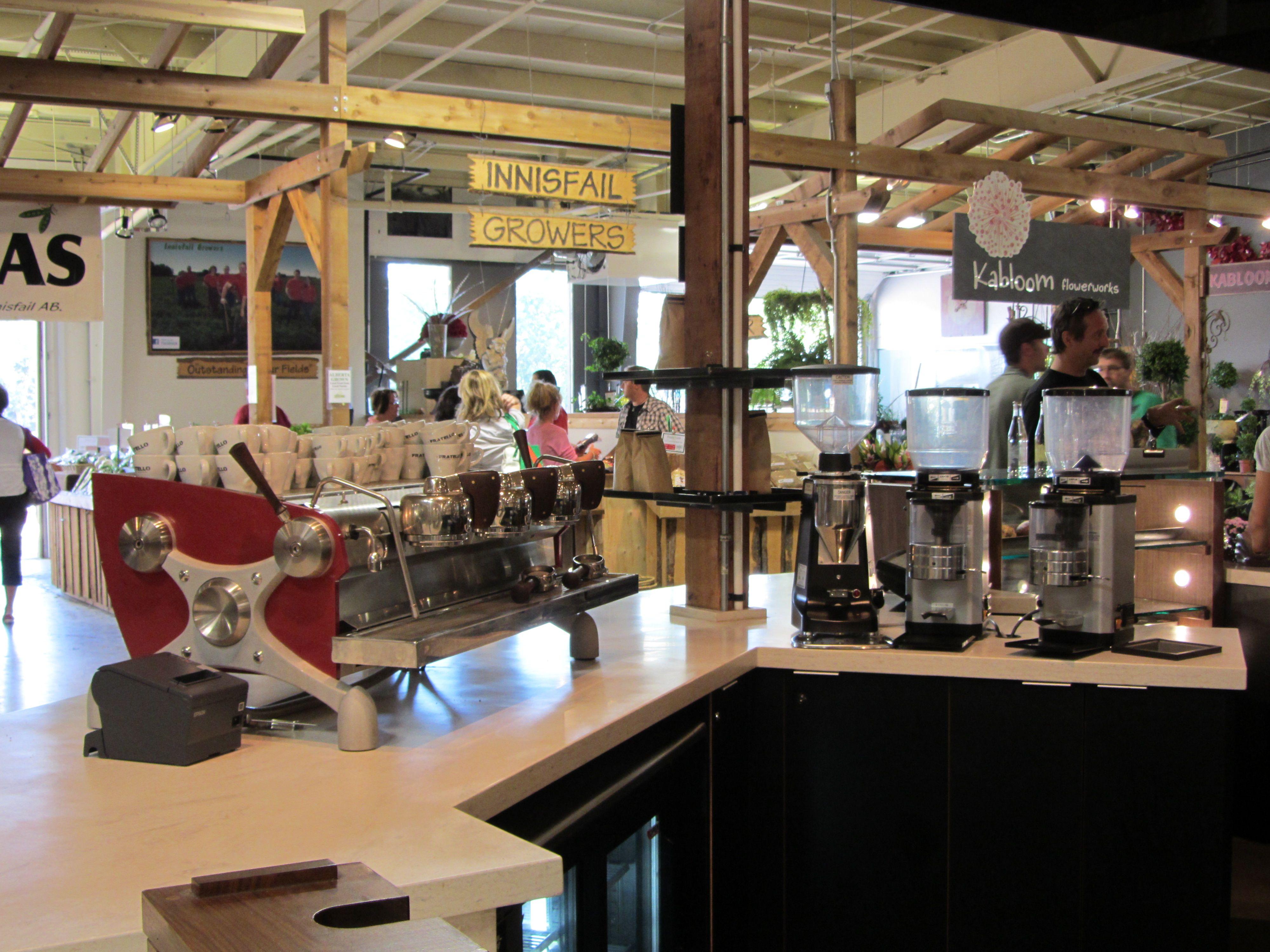 Fratello Coffee Company Calgary Farmer's Market (With
