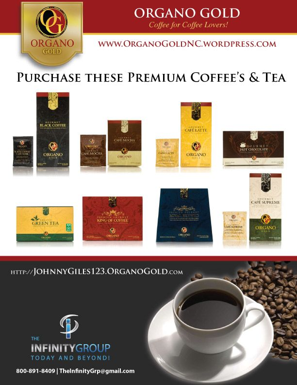 Organo Gold is an awesome home based business and to buy, learn more or get a free sample visit http://organogoldnc.wordpress.com or e-mail TheInfinityGrp@gmail.com