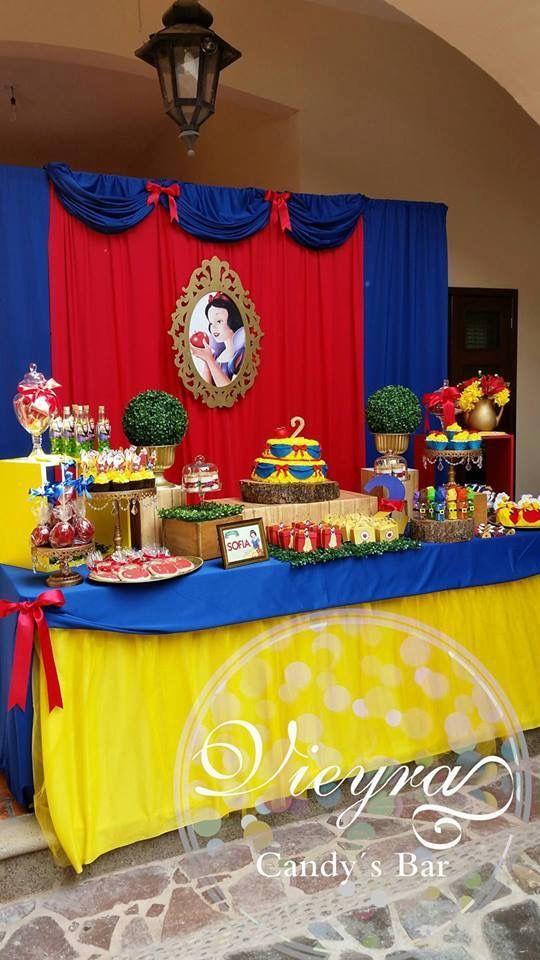 Inspiración | Birthday | Snow white birthday, Birthday ...