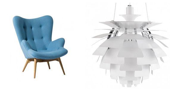 Designkopior med klass från Nlini Arne jacobsen and Stools