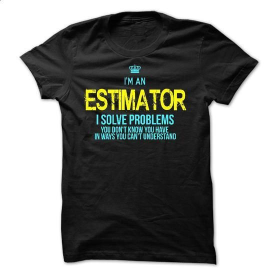 I am an ESTIMATOR - #sweater for men #black sweater. CHECK PRICE => https://www.sunfrog.com/LifeStyle/I-am-an-ESTIMATOR-28552583-Guys.html?68278