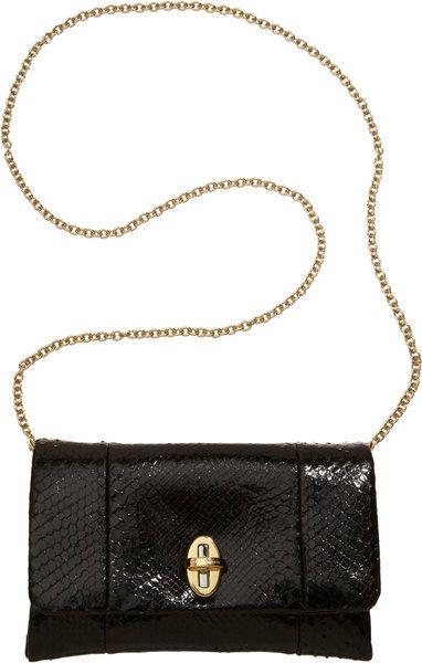 Dolce   Gabbana Python Miss Agnese Bag in Black   Lyst   bags ... 37ac05b871